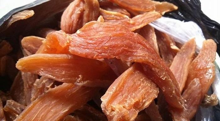 Thưởng thức vị ngọt của món khoai dẻo Quảng Bình