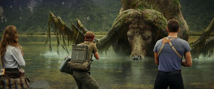 Cảnh quay trong phim Kong