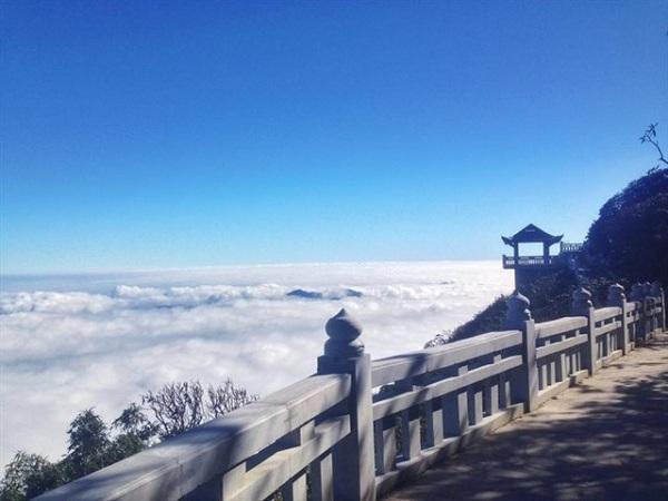 Sân mây ở Sapa